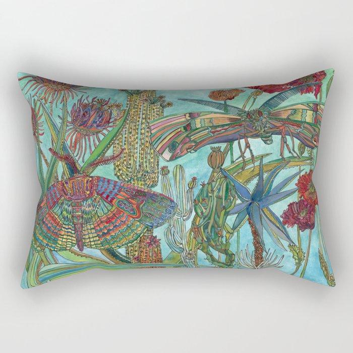 Garden of Delights Rectangular Pillow