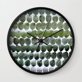 Color Jewels No. 15 by Kathy Morton Stanion Wall Clock