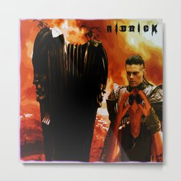 Riddick, Attack on Helion Prime Metal Print