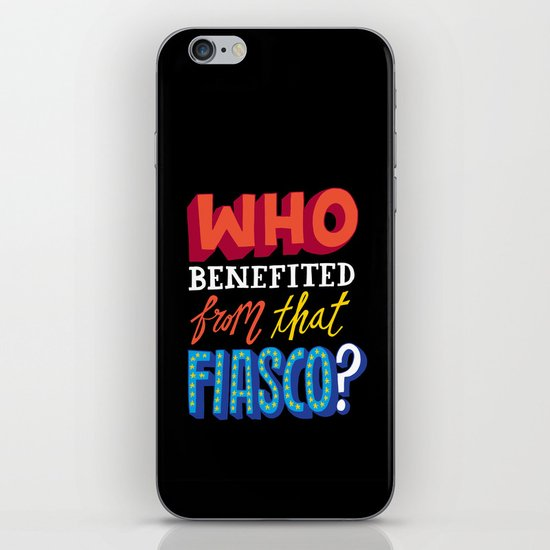 This Fiasco iPhone & iPod Skin