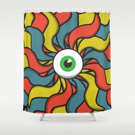 EYE TRIP Shower Curtain
