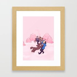 Rose Winter Framed Art Print