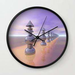 Conical Geometric Progression Wall Clock