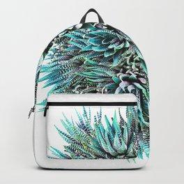 Cactus Crown 1. Blue & Green #decor #buyart Backpack