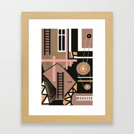 Construction 2 Framed Art Print