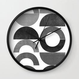 Playground II Mono Wall Clock