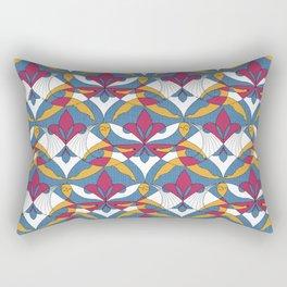 Interwoven XX_Raspberry Rectangular Pillow