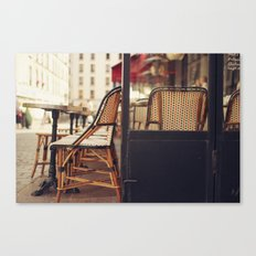 Paris Cafe Canvas Print