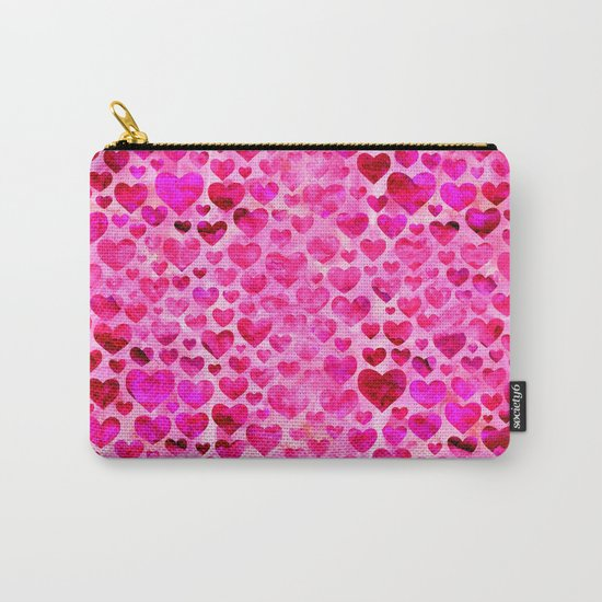 Heart Pattern 07 Carry-All Pouch