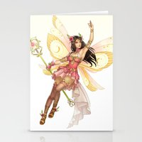 fairy Stationery Cards featuring Fairy by clayscence