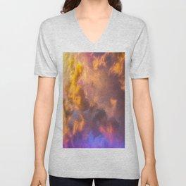 Sun Fire Sky Unisex V-Neck