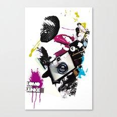 :: LOMO JUNKIE Canvas Print