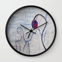 soul Wall Clocks featuring soul by Loosso