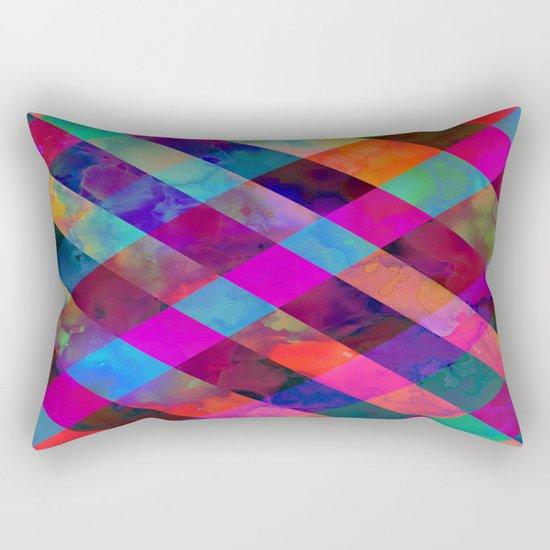 Rio Plaid Rectangular Pillow