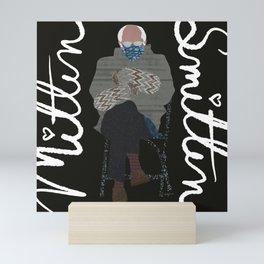 Mixed Media Bernie Mittens Mini Art Print