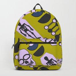 Modern Halloween skeletons Backpack