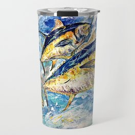Golden Tuna Travel Mug