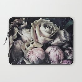 Roses and peonies vintage style Laptop Sleeve