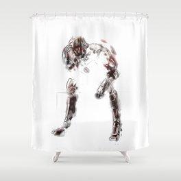 DIZZY HERO Shower Curtain