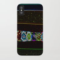 starry night iPhone & iPod Cases featuring Starry Starry Night by Lior Blum