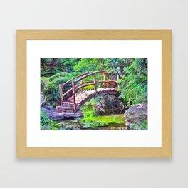 Isamu Taniguchi Garden Framed Art Print