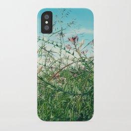 Field Wild Flowers iPhone Case