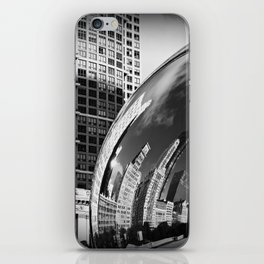 The Bean Reflections iPhone Skin