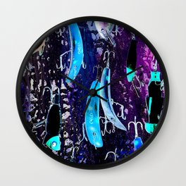 Midnight Lures Wall Clock