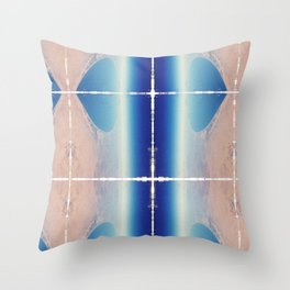 View over Egypt Throw Pillow