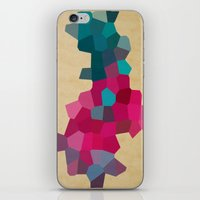 crystals iPhone & iPod Skins featuring Crystals by Samantha Ranlet