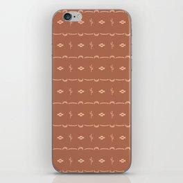 Adobe Cactus Pattern iPhone Skin