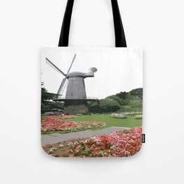 Dutch Windmill - Golden Gate Park Tote Bag