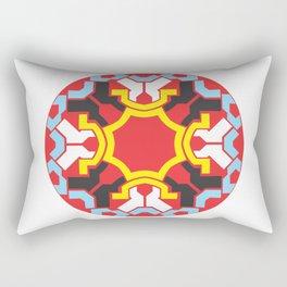Circle colorful Rectangular Pillow