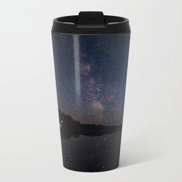 Milky Way over the Lake Metal Travel Mug