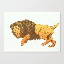 Riso-lion! Canvas Print