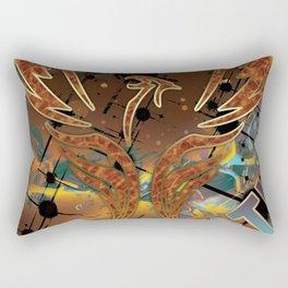 Rebirth of the Phoenix Rectangular Pillow