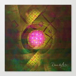 90's Neon Canvas Print