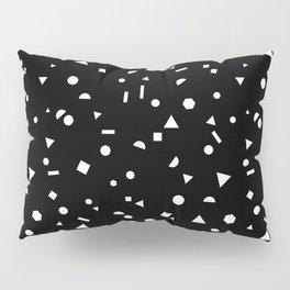 My Favorite Pattern 3 black Pillow Sham
