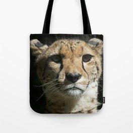 Cheetah Portrait Tote Bag