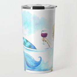 Bathtub Mermaid Travel Mug