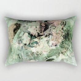 Beyond the circle Rectangular Pillow