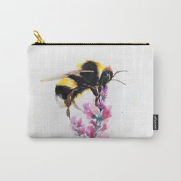 Bumblebee on a flower Carry-All Pouch