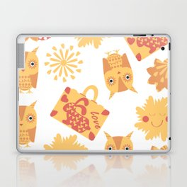 Travel pattern 4bg Laptop & iPad Skin