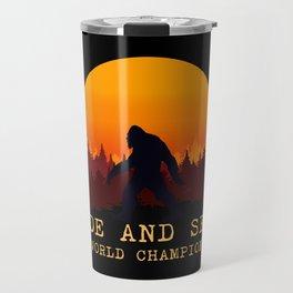 Bigfoot - Hide and Seek World Champion Travel Mug