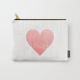CORAL HEART Carry-All Pouch