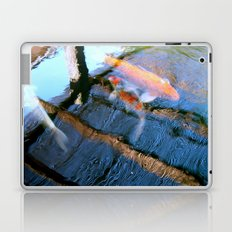 Koi Pond Reflections Laptop & iPad Skin