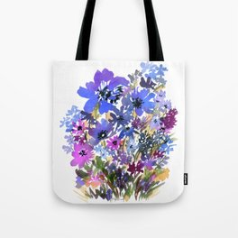 Heavenly Blues and Purples Tote Bag