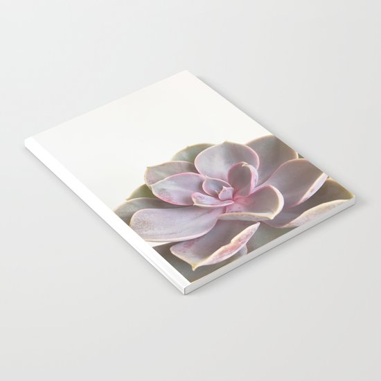 Purple Succulent Notebook