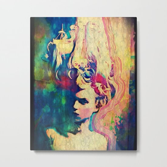 She is sweet ship candy Metal Print