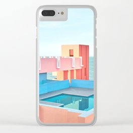 Muralla Roja Clear iPhone Case